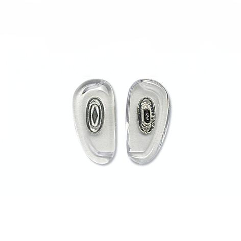 Nose Pad, Biomedical PVC w/ Silver Insert, 14.5 mm