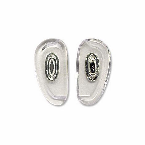 Nose Pad, Biomedical PVC w/ Silver Insert, 18.5 mm