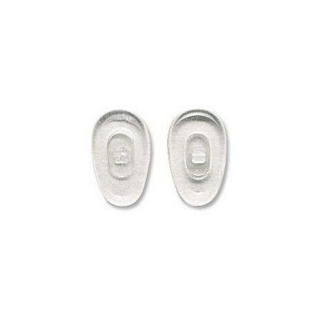 Nose Pad, Glass Hypoallergenic, 12 mm