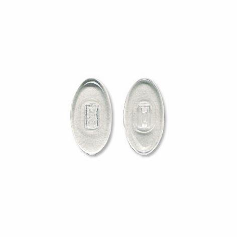 Nose Pad, Biomedical PVC, 13 mm