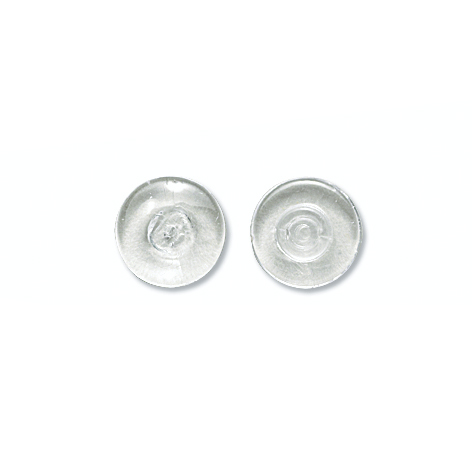 Nose Pad, Biomedical PVC, 9.5 mm