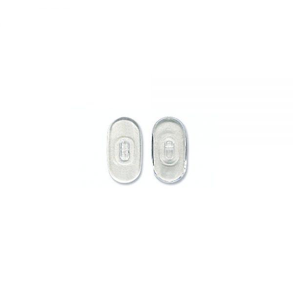 Nose Pad, Biomedical PVC, 13.5 mm
