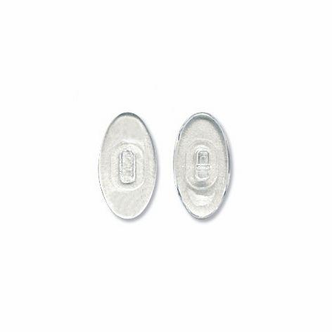 Nose Pad, Polycarbonate, 13 mm