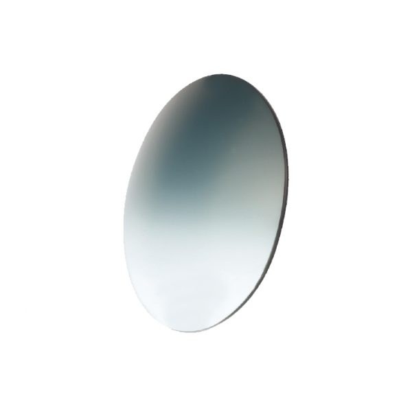 Lens, Poly Medium Gray