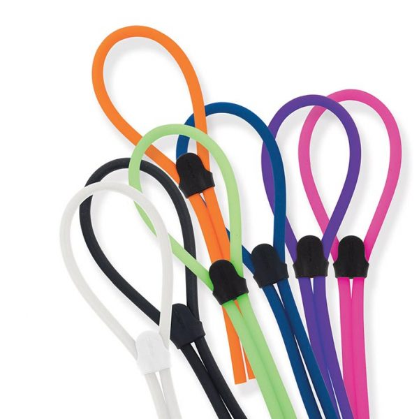 Cord Set, Silicone for Large Temples, Assorted