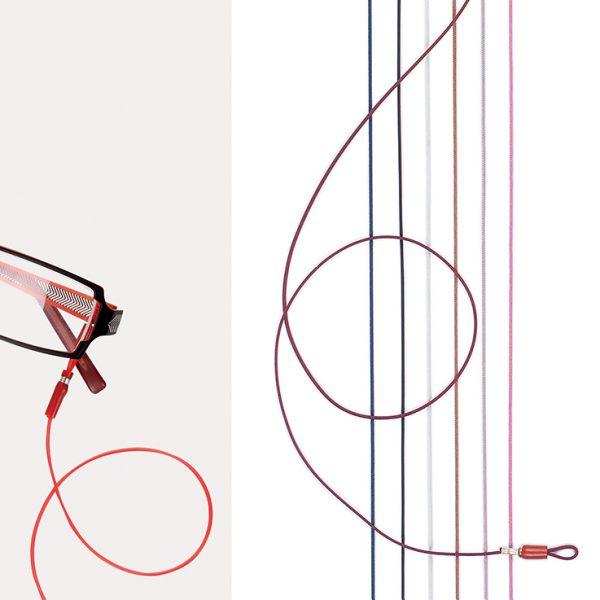 Cord Set, Microfiber & Silver