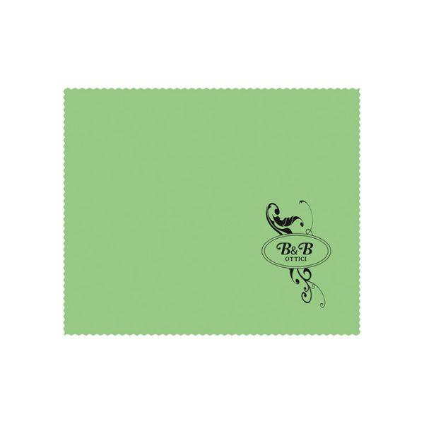 Custom Cleaning Cloth, Black Printing