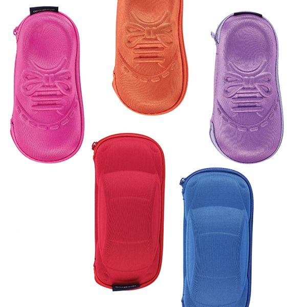Eyeglass Case Set, Shoes & Cars