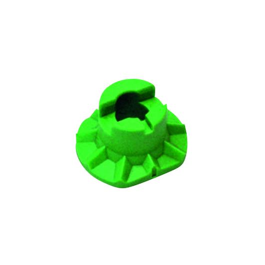 Green Half Eye Block