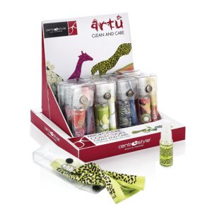 Art Collection Spray Clean & Cloth Set, With Display