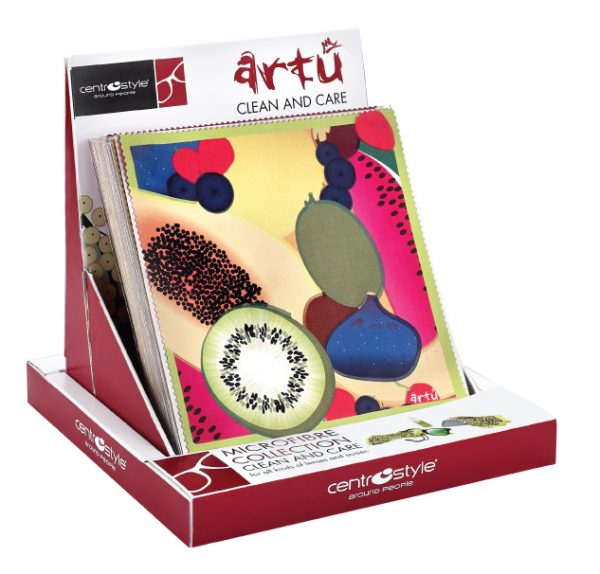 Art Collection Cleaning Cloth Set, With Display