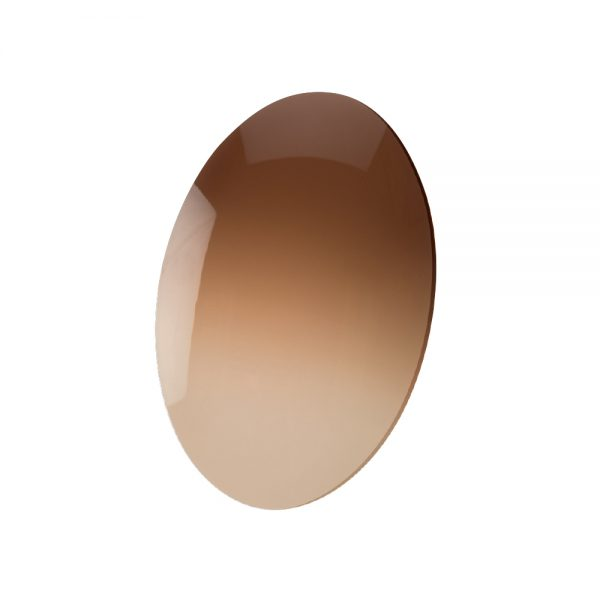 Lens, CR-39 Brown Gradient