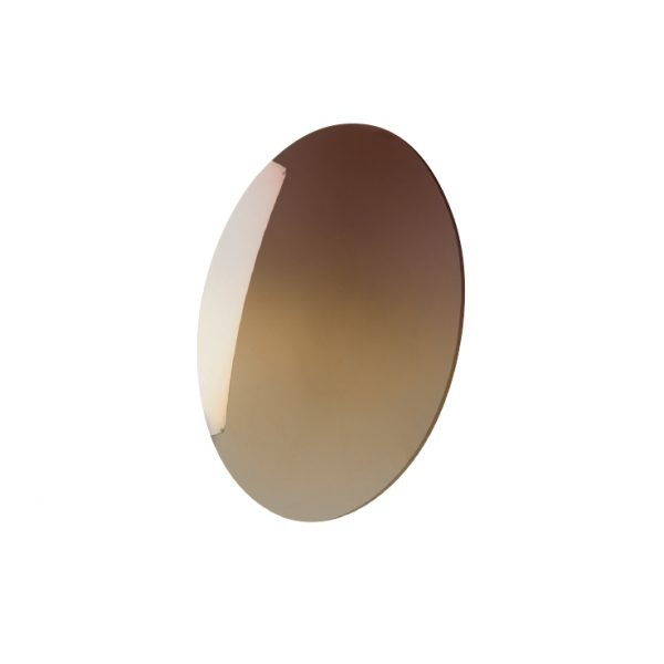Lens, Poly Brown Mirror Gradient