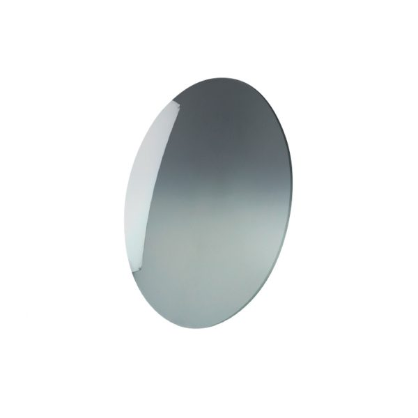 Lens, Poly Gray Mirror Gradient