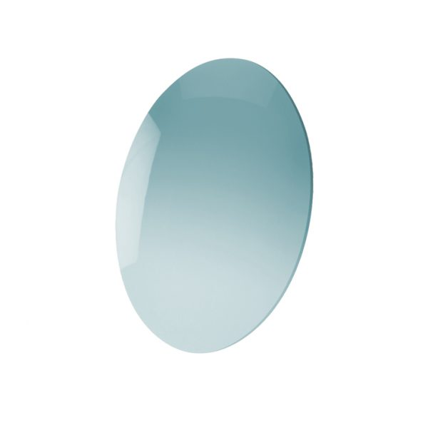 Lens, CR-39 Aquamarine Mirror