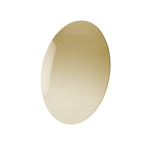 Lens, CR-39 Gold Mirror