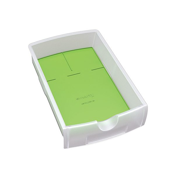 Smarty Clear with Green Insert