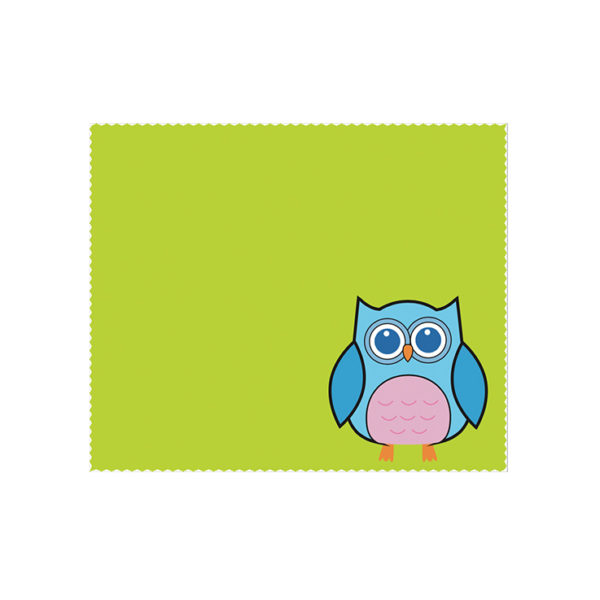 Custom Cleaning Cloth Owl