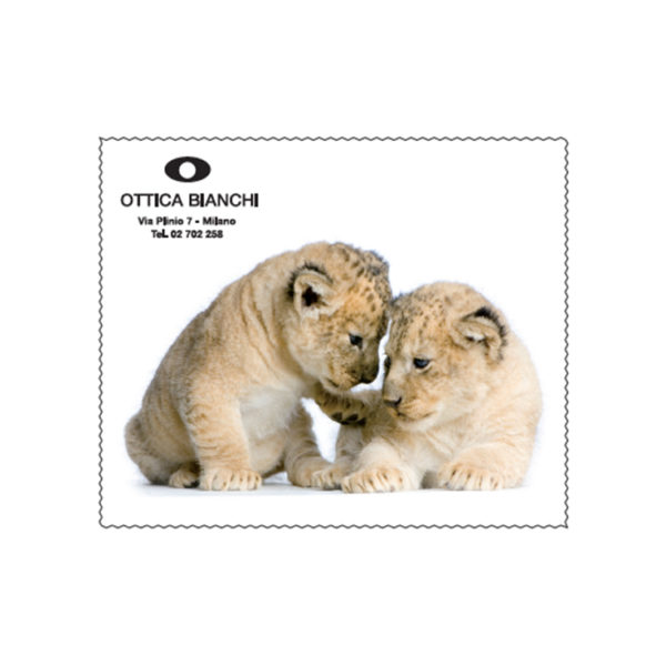 Custom Cleaning Cloth Baby Tigers