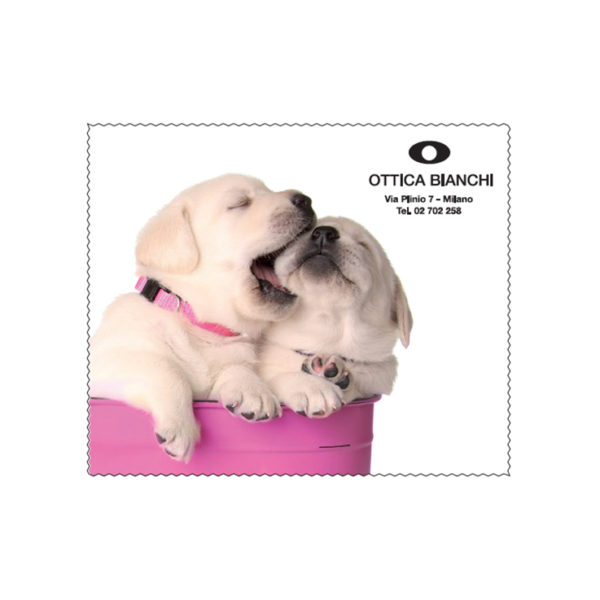 Custom Cleaning Cloth Puppies