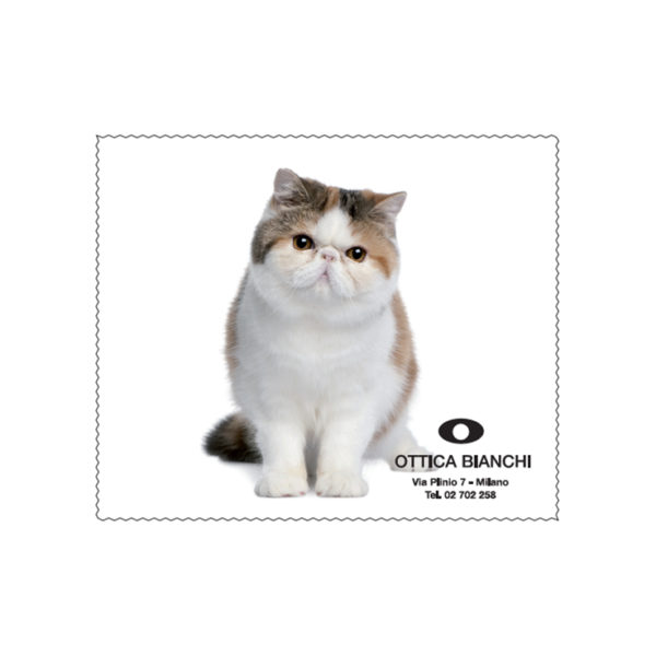 Custom Cleaning Cloth Cat