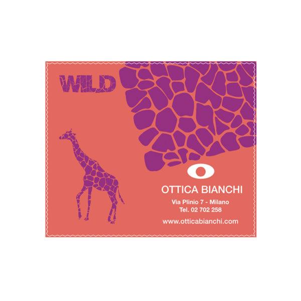 Custom Cleaning Cloth Giraffe