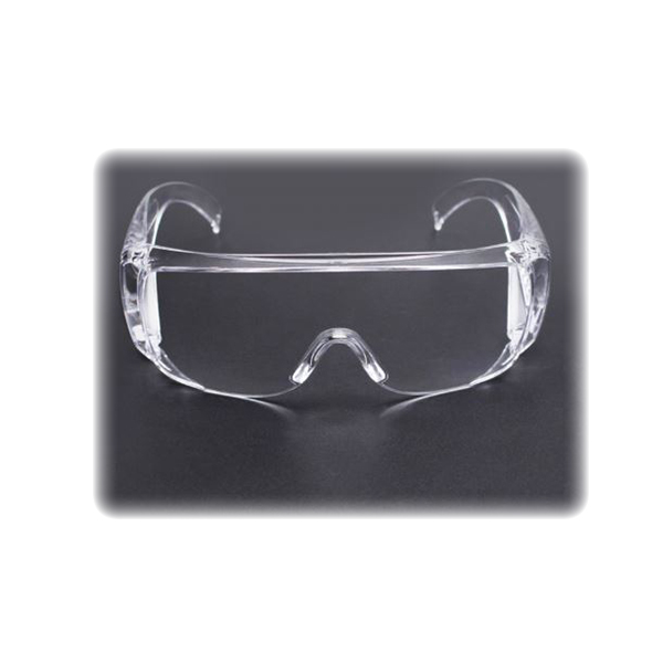 Fit-Over, Safety Shield, Clear Polycarbonate